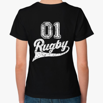 Женская футболка Регби Rugby