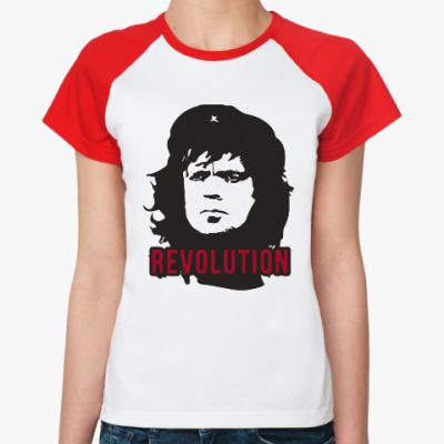 Женская футболка реглан Тирион - Че Гевара