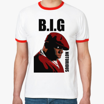 Футболка Ringer-T   B.I.G.