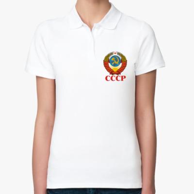 Женская рубашка поло СССР