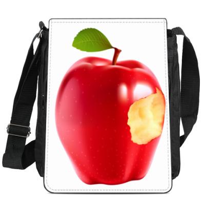 Сумка-планшет В яблочко!