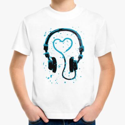 Детская футболка dj's heart