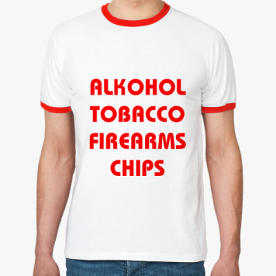 Футболка Ringer-T Chips