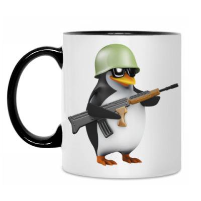 Кружка Боевой пингвин