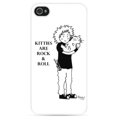 Чехол для iPhone 'kitties are rock & roll'