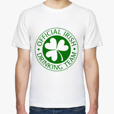Футболка Official Irish drinking team