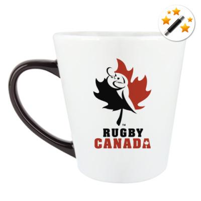 Кружка-хамелеон Канада регби