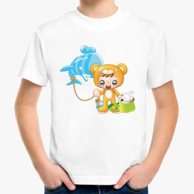 Детская футболка Люблю игрушки