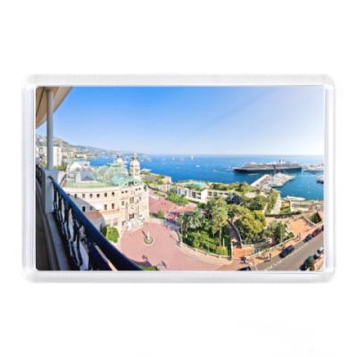 Магнит Монако, вид на океан