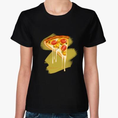 Женская футболка 'Pizza'