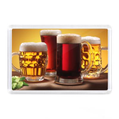 Магнит Кружки с пивом
