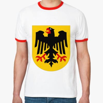 Футболка Ringer-T Немецкий герб