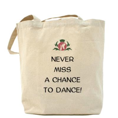 Сумка Холщовая сумка Never Miss a Chance