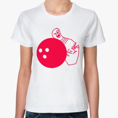 Классическая футболка Боулинг