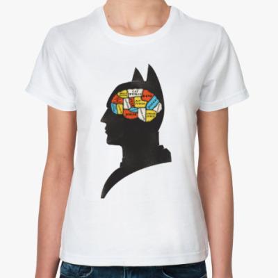 Классическая футболка Бэтмен Френология