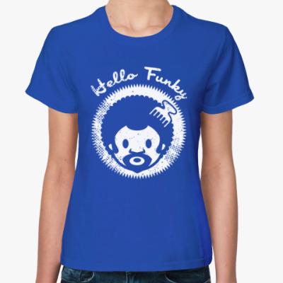 Женская футболка Hello Funky