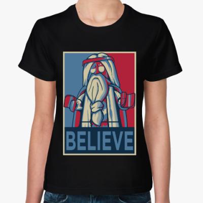 Женская футболка Лего Иисус