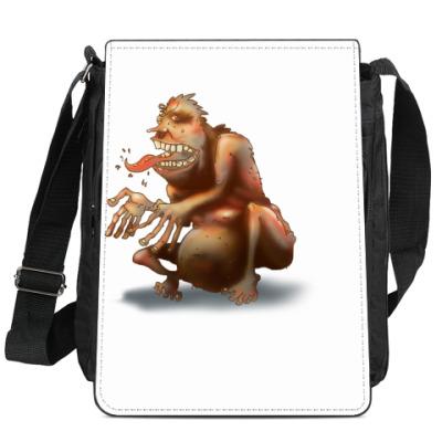 Сумка-планшет Троль