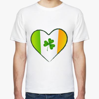 Футболка Люблю Ирландию