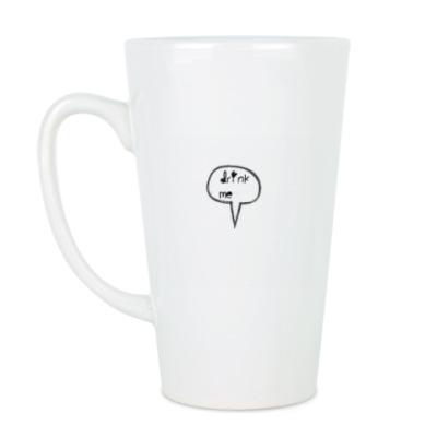 Чашка Латте Выпей меня