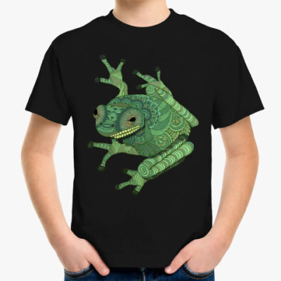 Детская футболка Лягушка