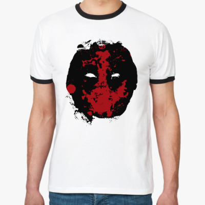 Футболка Ringer-T Deadpool