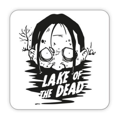 Костер (подставка под кружку) Подставка под кружку Zombie