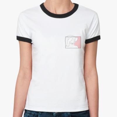 Женская футболка Ringer-T La Signora
