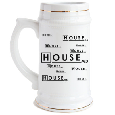 Пивная кружка House m.d.