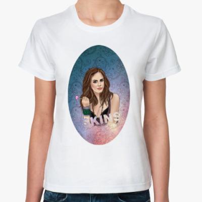 Классическая футболка Женская футболка EFFY SKINS