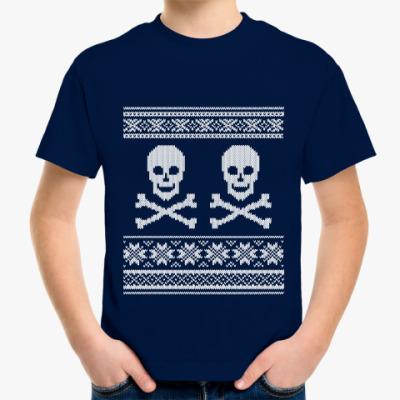 Детская футболка Черепа