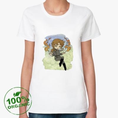Женская футболка из органик-хлопка Футболка Zoisite (женская)