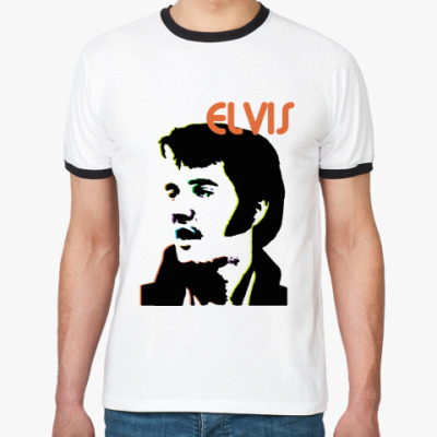 Футболка Ringer-T ELVIS PRESLEY