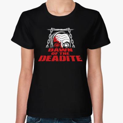 Женская футболка Мертвец