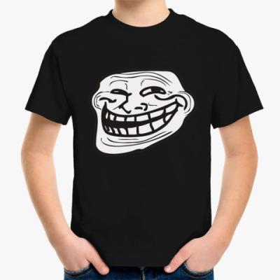 Детская футболка TrollFace