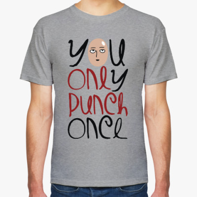 Футболка Ванпанчмен One Punch Man