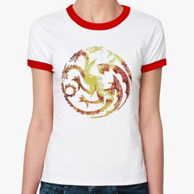 Женская футболка Ringer-T Khaleesi