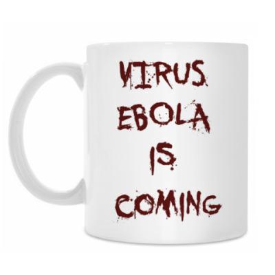Кружка Virus Ebola is Coming