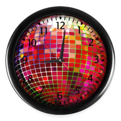 Настенные часы Зеркальный шар