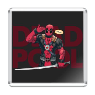 Магнит Deadpool