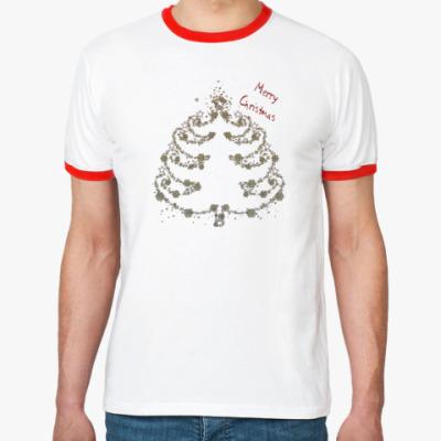 Футболка Ringer-T елка