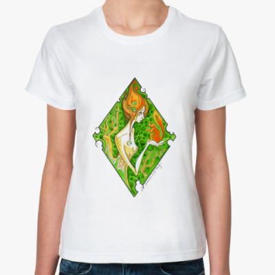 Классическая футболка Дриада
