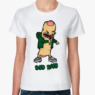 Классическая футболка  футболка Bad Boys