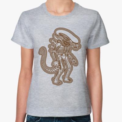 Женская футболка Чужой Майя