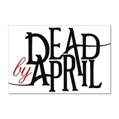 Наклейка (стикер) Dead by April