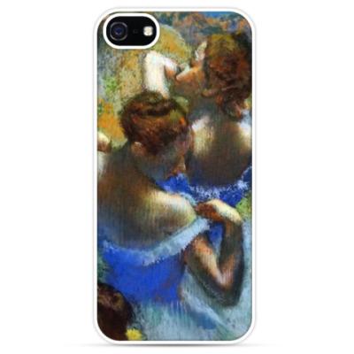 Чехол для iPhone Голубые танцовщицы
