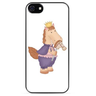 """Чехол для iPhone Чехол для iPhone 5 """"Лошадка принц"""""""