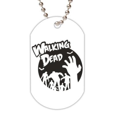Жетон dog-tag Ходячие мертвецы