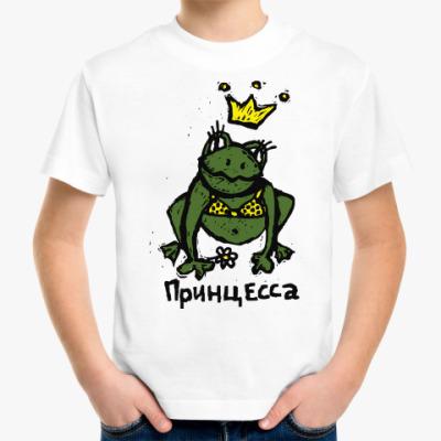 Детская футболка Принцесса