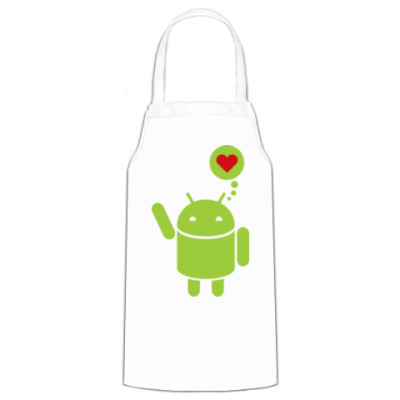 Фартук Love Android